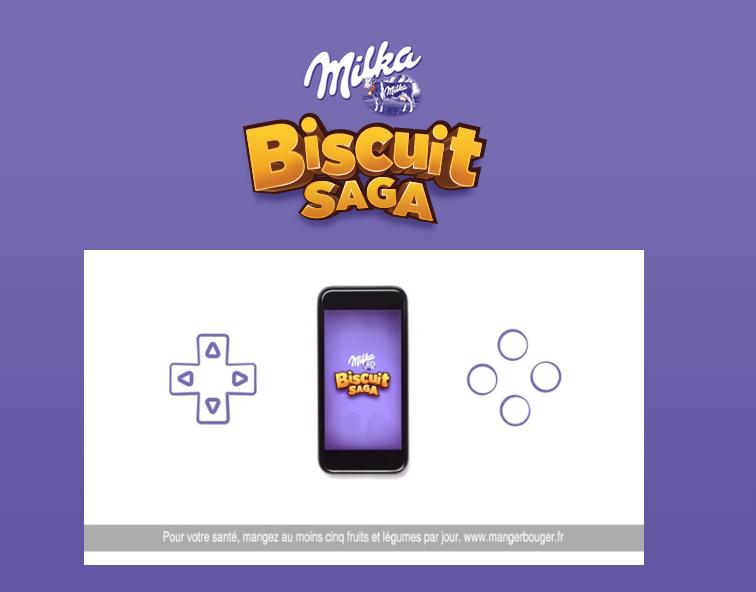 Milka Biscuit Saga 1