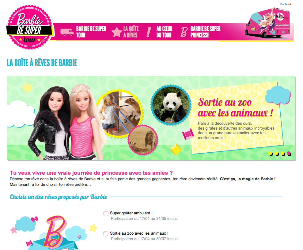 Barbie be super tour 3